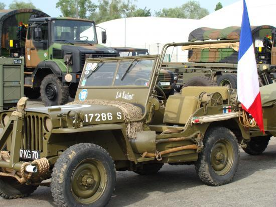 La jeep de Gérard